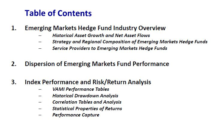 Regional-level Coverage of all the Major Emerging Markets