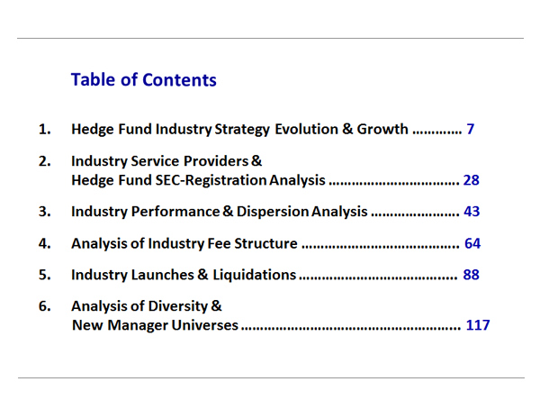 Analysis of Trends in the Industry's Newest Hedge Funds